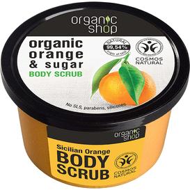 Organic Shop Scrub do ciała - Sycylijska pomarańcza, 250 ml