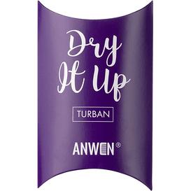 Anwen Turban do włosów - Dry It Up - fioletowy