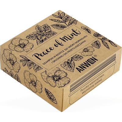 Szampon w kostce + puszka - Peace of Mint Anwen