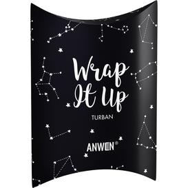 Anwen Turban do włosów - Wrap It Up - czarny