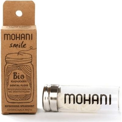 Biodegradowalna nić dentystyczna Mohani Smile - miętowa Mohani