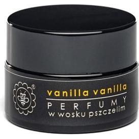 Miodowa Mydlarnia Perfumy w wosku pszczelim - Vanilla vanilla, 15 g