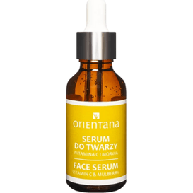 Orientana BIO serum do twarzy - Witamina C i morwa, 30 ml