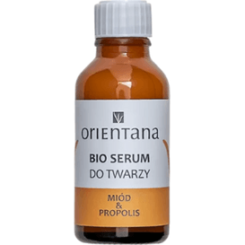 Orientana BIO serum do twarzy - Miód i propolis, 30 ml