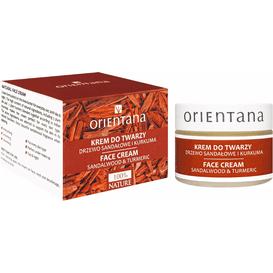 Orientana Krem do twarzy - Drzewo sandałowe i kurkuma, 40 g