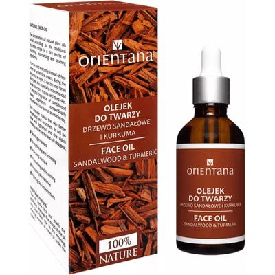 Olejek do twarzy - Drzewo sandałowe i kurkuma Orientana