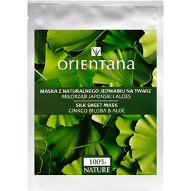Orientana Maska tkaninowa - Aloes i miłorząb japoński