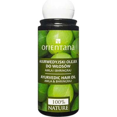Ajurwedyjski olejek do włosów - Amla i bhringraj Orientana
