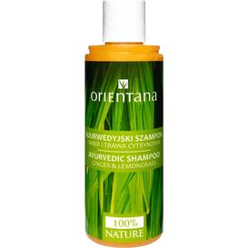 Orientana Ajurwedyjski szampon - Imbir i trawa cytrynowa, 210 ml