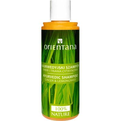 Ajurwedyjski szampon - Imbir i trawa cytrynowa Orientana