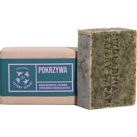 Mydlarnia Cztery Szpaki Mydło z olejkami eterycznymi z drzew iglastych - Pokrzywa, 110 g