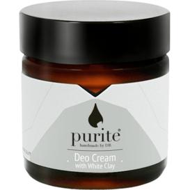 Purite Dezodorant w kremie z Białą Glinką, 60 ml