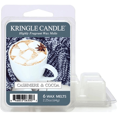 Cashmere & Cocoa - Wosk zapachowy potpourri Kringle Candle