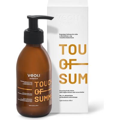 Touch of summer - brązujący balsam do ciała z ekstraktem z alg i masłem kakaowym Veoli Botanica