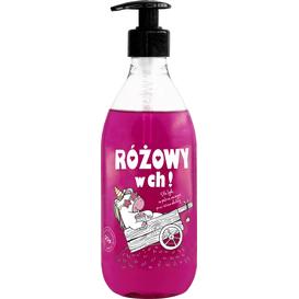 LAQ Shots! - Żel pod prysznic - Różowy w ch!, 500 ml