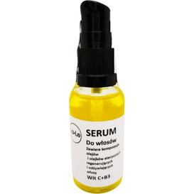 La-Le Kosmetyki Serum do włosów - witamina C i B3, 30 ml