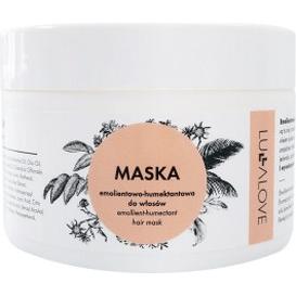 Lullalove Maska do włosów emolientowo-humektantowa - włosy suche i zniszczone, 250 ml