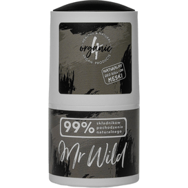 4organic Naturalny dezodorant Mr Wild - cyprysowo-imbirowy, 50 ml