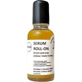 La-Le Kosmetyki Serum pod oczy roll-on - zielona i biała herbata, 30 ml