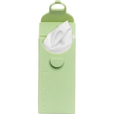 LastTissue - Wielorazowe chusteczki z bawełny organicznej w zielonym etui LastObject