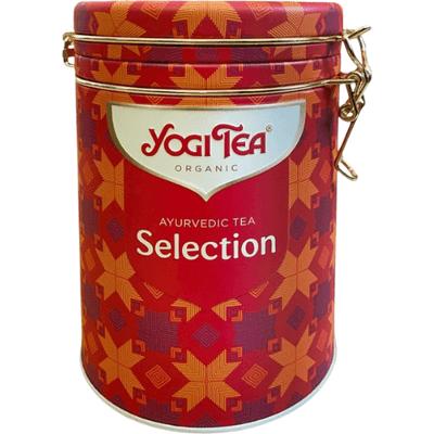 Selekcja ajurwedyjskich herbat - zestaw w pięknej puszce Yogi Tea