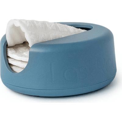 LastRound - Zestaw wielorazowych płatków kosmetycznych w niebieskim etui LastObject