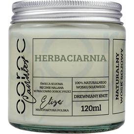 Ooroc Świeca sojowa mała w słoiku - Herbaciarnia, 120 ml