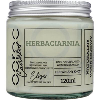 Świeca sojowa mała w słoiku - Herbaciarnia Ooroc