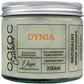 Ooroc Świeca sojowa w słoiku - Dynia, 250 ml