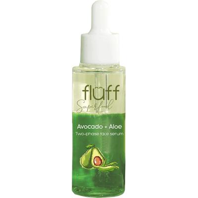 Serum booster dwufazowe - aloes i awokado - odżywienie i nawilżenie Fluff