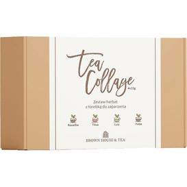 """Brown House & Tea Zestaw herbat """"Tea Collage"""" starter, 4 x 15 g"""