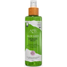 APIS Aloesowa mgiełka do twarzy, ciała i włosów Dragon Fruit, 250 ml
