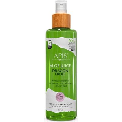 Aloesowa mgiełka do twarzy, ciała i włosów Dragon Fruit APIS