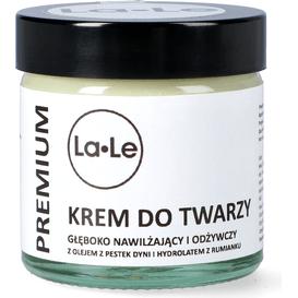 La-Le Kosmetyki Krem dyniowy do twarzy głęboko nawilżająco - odżywczy, 60 ml