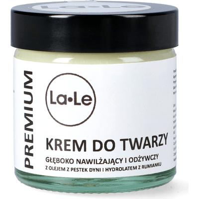 Krem dyniowy do twarzy głęboko nawilżająco - odżywczy La-Le Kosmetyki