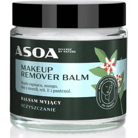 Asoa Odżywczy balsam myjący do twarzy - MAKEUP REMOVER BALM, 120 ml