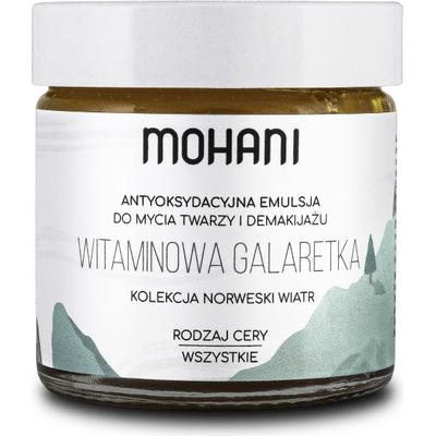 Antyoksydacyjna emulsja do mycia i demakijażu twarzy - Witaminowa Galaretka Mohani