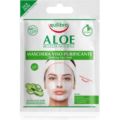 Aloesowa oczyszczająca maseczka do twarzy Equilibra