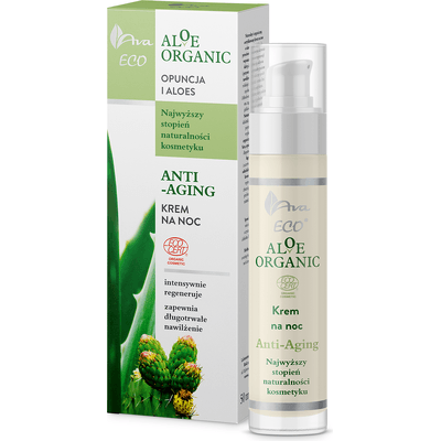 Aloe Organic - Krem na noc anti-aging AVA Laboratorium