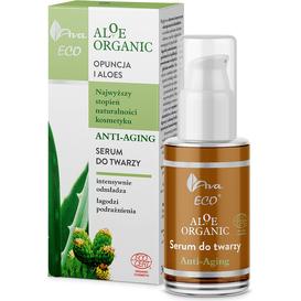 AVA Laboratorium Aloe Organic - Serum do twarzy anti-aging, 30 ml