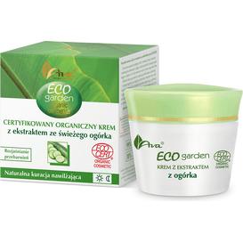 AVA Laboratorium Eco Garden - Organiczny krem z ekstraktem ze świeżego ogórka 20+, 50 ml