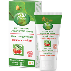 AVA Laboratorium Eco Garden - Organiczne serum energetyzujące - pomidor z ogórkiem 35+, 30 ml
