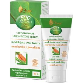 AVA Laboratorium Eco Garden - Organiczne serum modelujące owal twarzy - marchewka z groszkiem 45+, 30 ml