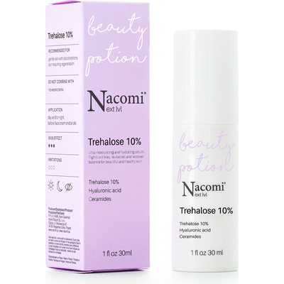 Next level - Serum multifunkcyjne, nawilżające Trehaloza 10% Nacomi