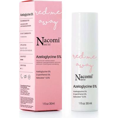 Next level - Kojące serum dla cery naczynkowej - Azeloglicyna 5% + witamina B6 Nacomi