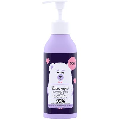 Ultradelikatny szampon do wrażliwej skóry dla dzieci Yope