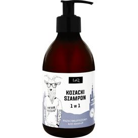 LAQ Kozioł - Przeciwłupieżowy szampon dla mężczyzn 1w1, 300 ml