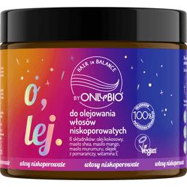 OnlyBio Olej do olejowania włosów niskoporowatych, 150 ml