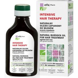 Vis Plantis Intensive Hair Therapy - Naturalny olejek łopianowy do włosów przeciw wypadaniu z aktywatorem wzrostu, 100 ml