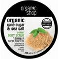 Scrub do ciała - Cukier trzcinowy i sól morska
